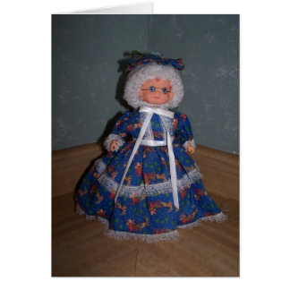 Isaiah 46:4, Grandma Doll Card