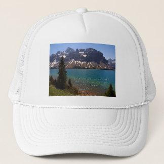 Isaiah 49:13 Mountain Lake Trucker Hat