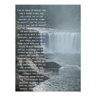Isaiah 53:2-3 posters