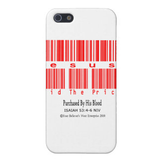 Isaiah 53:4-6 (Jesus Paid The Price) Case For iPhone SE/5/5s