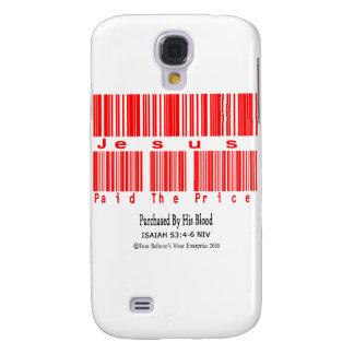 Isaiah 53:4-6 (Jesus Paid The Price) Samsung Galaxy S4 Cover