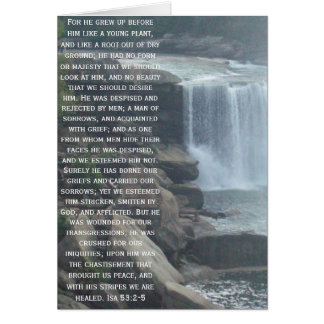 Isaiah 53 Collection Greeting Cards