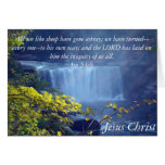 Isaiah 53 Collection Card