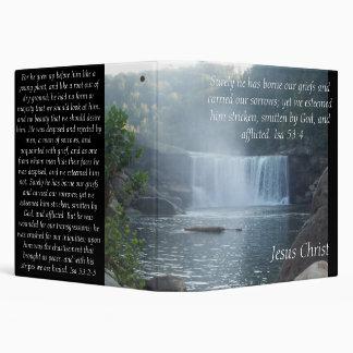 Isaiah 53 Collection/Jesus Christ- Isa 53 3 Ring Binder
