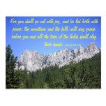 Isaiah 55:12 postcard