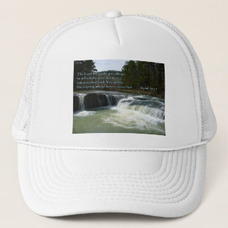 Isaiah 58:11 Waterfall Trucker Hat