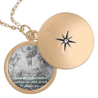 Isaiah 66:13 necklace