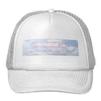 Isaiah 68:4 trucker hat