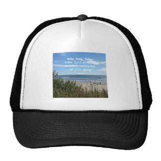 Isaiah 6:3 Holy, holy, holy is the Lord of hosts.. Trucker Hat