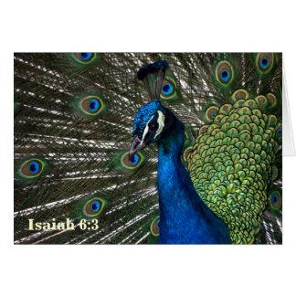 Isaiah 6:3 Notecard