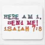 Isaiah 7:8 mouse pads