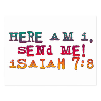 Isaiah 7:8 postcard