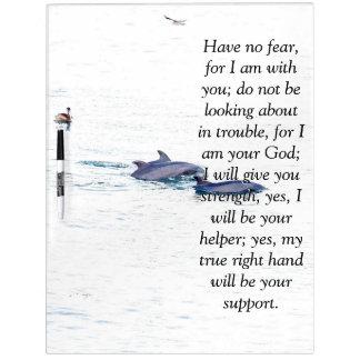 Isaiah Bible Scripture Dolphins Pelican Board