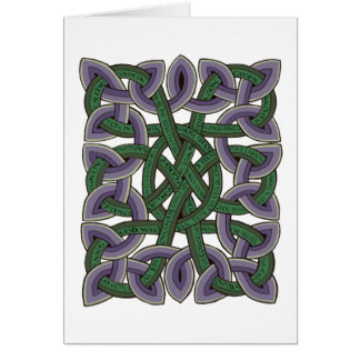 Isaiah Christmas Calligraphy Scottish Celtic Knot Card