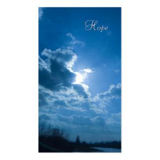 Isaías 40; 28-31- señal inspirada plantillas de tarjetas de visita
