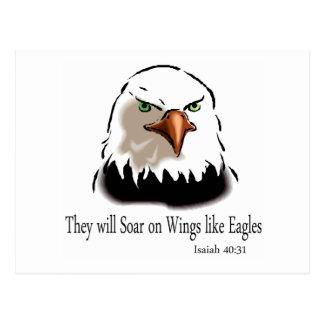 Isaías 40 31 postal