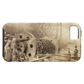 Isambard Kingdom Brunel (1806-59) beside the 'Grea iPhone 5 Case
