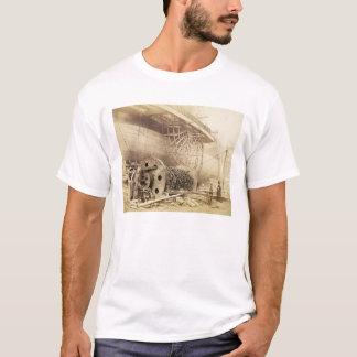 Isambard Kingdom Brunel (1806-59) beside the 'Grea T-Shirt