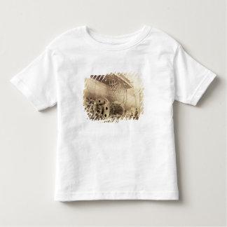Isambard Kingdom Brunel (1806-59) beside the 'Grea Shirt