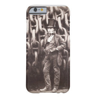 Isambard Kingdom Brunel, standing in front of the Barely There iPhone 6 Case