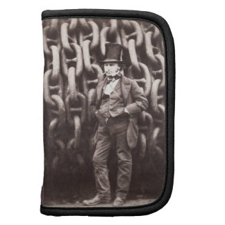 Isambard Kingdom Brunel, standing in front of the Folio Planner