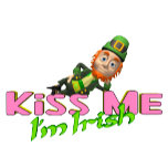 Kiss Me I'm Irish T-shirts and Buttons