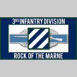 3rd Infantry CIB Rock of the Marne