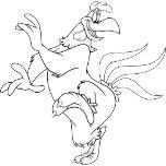 Foghorn Leghorn Dancing