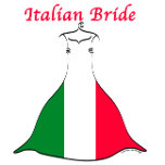 Italian Brides T-shirts, Italy Bride Gifts