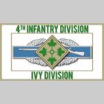 4th Infantry CIB Ivy Division rt