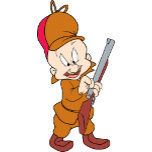 Elmer Fudd Ready to Hunt