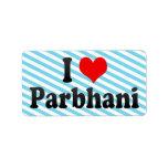 I Love Parbhani, India Label