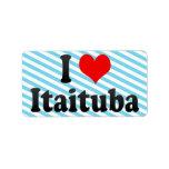 I Love Itaituba, Brazil Label