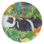 Safi and Zaria Guinea Pigs Plate