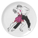 Tango Passion Dinner Plate