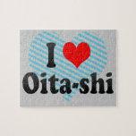 I Love Oita-shi, Japan. Aisuru Oita-Shi, Japan Jigsaw Puzzle