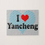I Love Yancheng, China Jigsaw Puzzle