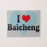 I Love Baicheng, China Jigsaw Puzzle
