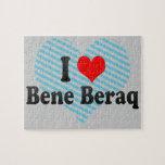 I Love Bene Beraq, Israel Jigsaw Puzzle