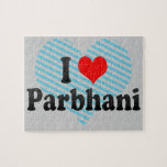 I Love Parbhani, India Jigsaw Puzzle
