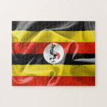 """Uganda Flag 11"""" x 14"""" Photo Puzzle with Gift Box"""