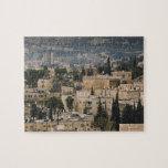 Elevated city view from Jerusalem YMCA tower Jigsaw Puzzle