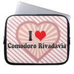 I Love Comodoro Rivadavia, Argentina Laptop Sleeve