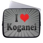 I Love Koganei, Japan. Aisuru Koganei, Japan Computer Sleeve