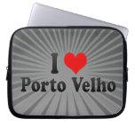 I Love Porto Velho, Brazil Laptop Sleeve