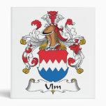 Ulm Family Crest Binder