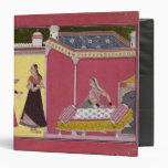 Preparing the Bed, Bilaspur, c.1690-1700 3 Ring Binder
