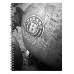 Pesaro Benelli vintage motorcycle Notebook