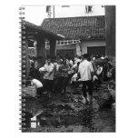 BW China changsha market 1970 Notebook