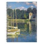 The Bridge at Argenteuil by Claude Monet Notebook